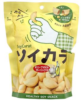 大塚製薬 ソイカラ オリーブオイルガーリック味 (27g) 低GI食品 くすりの福太郎
