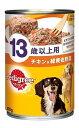 マースジャパン ペディグリー 缶 13歳以上用 チキン&緑黄色野菜 (400g) ドッグフード