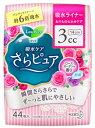 花王 ロリエ さらピュア スリムタイプ 3cc ローズガーデンの香り 吸水ライナー (44枚)