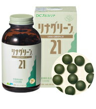 To irregular eating habits ☆! DIC lifetec ( Dainippon ink ) Spirulina lingren 21 1000 grains * enjoy 21 gift voucher with car