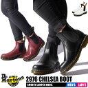 ドクターマーチン Dr.Martens 2976 メンズ レディース チェルシー ブーツ ブラック 黒 赤 本革 サイドゴア 靴 DR.MARTENS 2976 CHELSEA BOOT 22227001 22227600 送料無料 クリスマス
