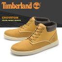 ティンバーランド ブーツ TIMBERLAND メンズ チャッカブーツ グローブトン ウィートヌバックレザー 天然皮革 ショート イエローブーツ (9463B GROVETON) 送料無料