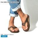 【SALE開催中】レインボーサンダル RAINBOW SANDALS ダブルレイヤー クラシック レザー サンダル メン...