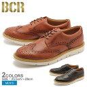 ウィングチップ メンズ 本革 レザー シューズ ビーシーアール BCR 全2色 (BCR BC822)靴 男性 送料無料