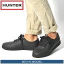 【シューズ全品 送料無料】 ハンター HUNTER レインシューズ メンズ オリジナル スニーカー ローラバーブラック 黒 男性 シューズ ハンター 防水 耐水 長靴 マットラバー ローカット(HUNTER MFK9004RMA ORIGINAL SNEAKER LO-RUBBER)