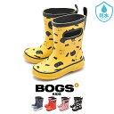 ボグス BOGS レインブーツ キッズ ジュニア ブラック ネイビー レッド イエロー ピンク 黒 青 赤 黄 長靴 雨具 防水 台風 シューズ 靴 RAIN BOOTS 78565 78566 78567 子供