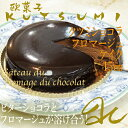 感激!濃厚 ショコラ が ふんわり 溶けてゆく!欧菓子KUTSUMI極上 チーズケーキクツミ ショコラフロマージュ 15センチ