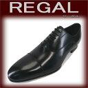 【送料無料】(靴磨きセット付き) 本革・自然の革の風合いと美しいデザインの両立を目指すリーガル! REGAL 【リーガル】 011R AL ストレートチップ・ メンズビジネスシューズ! 【101】