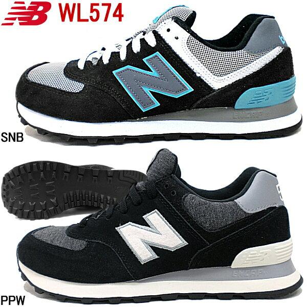 ニューバランス 574 New Balance WL574 SNB/PPW 靴 レディース靴 スニーカー ニューバランス クラシック CLASSICS TRADITIONNELS【NLNL-40hnc】●【楽ギフ_包装】