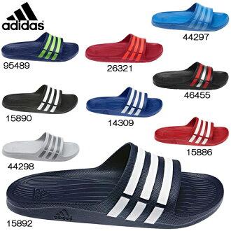 Adidas sandals men's women's adidas Duramo SLD Slide デュラモ slide shower sandal adidas men's ladies sandal-