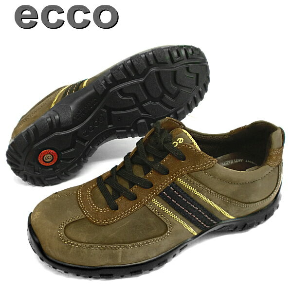 "See the rest only one leg! 25.0 cm ""wide ecco 48734 3 E-leather! Mens comfort shoes-_ _"