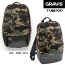 ショッピンググラビス グラビス バッグ バックパック トランスポート GRAVIS TRANSPORT 16354100 バッグ リュック 鞄 かばん グラビス カモフラ柄 迷彩 通学 通学 おしゃれ リュックサック メンズ レディース