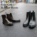 [free shipping] [tomorrow easy correspondence] I wanted such rain boots! The boots that the reliable rain boots men pullover boots is common visually already openly which resist rain, snow! High-quality  wing tip side Gore men boots TM-002/GB-3139 rain shoes boots rubber