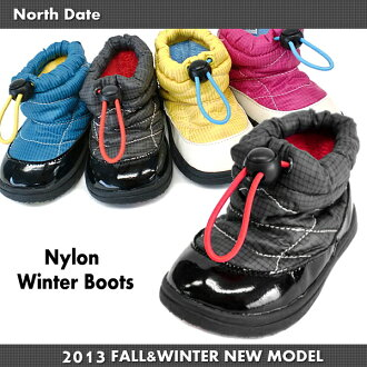 Kids ' boots North Date ノースデイト MEG 1303 down wind winter boots kids boots-