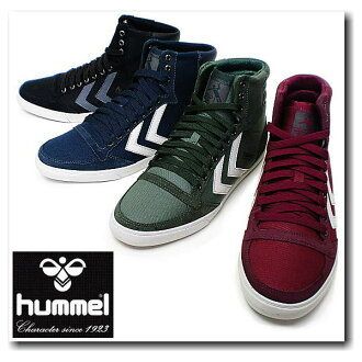 Hyun Mel sneakers men hummel SLIMMER STADIL HIGH WINTER HM63163 sports casual shoes ●[ fs3gm]