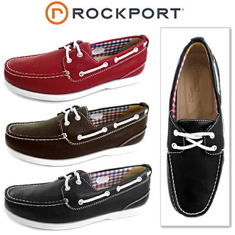 □ ROCKPORTCS 2 EYE BOAT ' 2 eye boat ' men's デッキシューズ casual shoes