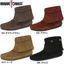 Mine Tonka moccasins Lady's boots regular article high-top back zip boots MINNETONKA HI TOP BACK ZIP BOOT 293/292/299/297T Moccasin fringe woman business regular dealer free shipping ●【 LILI-47pfc 】 [tomorrow easy correspondence] [present AMEDAS waterproof spray in a review!]