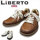 送料無料 税込 「EDWIN」メンズ エドウイン カジュアル 売れてる スニーカー Liberto 2色 70-281/靴靴パワー