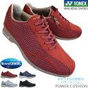 ショッピングヨネックス ヨネックス YONEX パワークッション SHWL30A レディース ウォーキングシューズ スニーカー 紐靴 3.5E ファスナー付き SHW-L30A power cushion