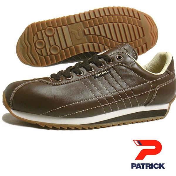 PATRICK パトリック メンズ レディース スニーカー 靴 サンガー SANGER チョコ(21333)
