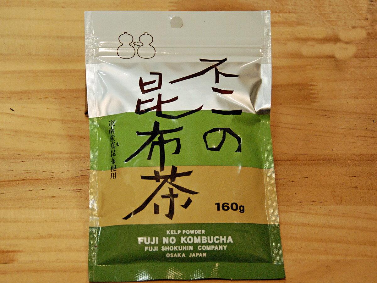 ひょうたん印の不二食品 不二の昆布茶160g入【こんぶ】