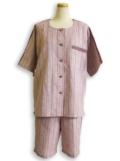 Home ladies ' wear and cool-room wear and Kurume woven Pajamas made in Japan fs3gm