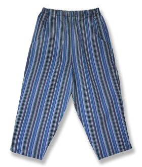 Kurume ちぢみ織 seven minutes pants ( steteco ) (size M, L, LL, 3 L, 4 L) made in Japan fs3gm