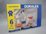 DURALEX【デュラレックス】ピカルディ 250cc×6個セット価格