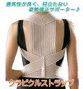 猫背矯正ベルト クラビクルストラップ/外にひびきにくい薄型肩こり対策サポーター♪...