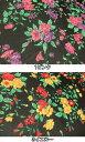 ポリエステル シフォン プリント生地 布 プリティフラワー 170305 花柄 チュニック ブラウス マキシスカート 商用利用可能