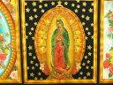 パネル生地 布 輸入 USAコットン インナーフェイス ABCM6482-195 グアダルーペの聖母 メキシコ聖母像 ロバートカフマン 商用利用可能