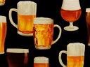 メーカー完売 USAコットン 生地 布 Cheers チアーズ 乾杯! AIR14750-2 Robert Kaufman ロバートカフマン 生ビール ロバートカウフマン お酒 アルコール 商用利用可能10P03Dec16