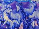 【楽天ランキング入賞商品】メーカー完売 USAコットン 生地 布 タイムレストレジャーズ ユニコーン C1652 入園入学 一角獣 商用利用可能