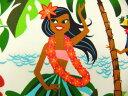 生地 布 USAコットン Leis, Luaus & Alohas レイ、ルアウ&アロハ ハワイアン柄 15093A THE ALEXANDER HENRY F...