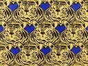 USAコットン 生地 コットン アンド スティール BLUE BIRD ブルーバード 5038-CS001 COTTON+STEEL オーガスト 動物柄 ライオン 商用利用可能