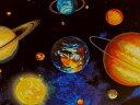生地 布 USAコットン Stargazers スターゲイザー AGW14606?11ロイヤル 宇宙