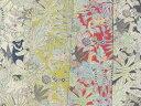 コットンリネン混生地 布 入園入学 マダガスカルの動物たち〜MIYAKO−036 動物柄 商用利用可能