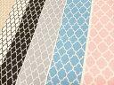 【楽天ランキング入賞商品】YUWA 有輪商店 シーティング生地 布 モロッカン<シンプル>四つ葉 EG116513 ヨーロピアンジオメトリック カルトナージュ ...