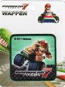 キャラクターワッペン アップリケスーパーマリオ【マリオカート7】クッパMRW016