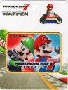 MRW012 キャラクターワッペン アップリケスーパーマリオ【マリオカート7】マリオ&ルイージ)MRW012