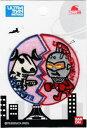 PU18 キャラクターワッペン アップリケ☆ウルトラマンbyパンソンワークス☆『ウルトラマンセブン・エレキング』PU500-PU18