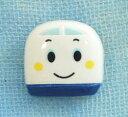 メーカー完売 キャラクターボタン サンリオ シンカンセンRIO−1150B レリーフボタンM 日用品雑貨・文房具・手芸 手芸・クラフト・生地 和洋裁材料 ボタン
