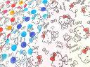 【楽天ランキング入賞商品】2016年 キャラクター生地 布 ダブルガーゼ生地 サンリオ ハローキティ G8034-1 Wガーゼ生地 商用利用不可10P03Dec16