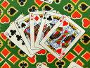 生地 布 輸入 USAコットン カジノロワイヤル 6368?44 ハイ ステイクス ポーカー トランプ フルハウス 4カード カンヴァス ベナーテックス 商用利用可能