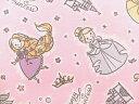 キャラクター生地 布 2017年 入園入学 ディズニープリンセス GR1058−1A ラプンツェル シンデレラ アリエル ベル オーロラ姫 白雪姫 スモック レ...