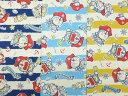 G8105-1 キャラクター生地 布 アイムドラえもんI 039 m Doraemon G8105−1 『ドラえもん のび太の宝島』 藤子プロ 2019年 継続 入園入学 商用利用不可