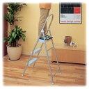 アルミステップ 踏み台 送料無料 ALS-3 ホワイト ストッパー付踏み台 補助台 脚立 はしご 折りたたみ アルミ ステップ 踏み台 作業台 玄関 収納 収納...