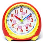 目覚まし時計 子供 3才から♪ スタディめざまし 時計 置き時計 置時計 知育玩具 学習玩具 長針 短針 目覚まし 入園 入学 ウォッチ くもん出版 【取寄品】【D】【3】