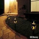 ガーデンライト ソーラー LED ディズニー 送料無料 ソーラーライト ティンカーベル シルエットライト TD-L27 ガーデン 庭 照明 灯り ライト キャラクター 防犯 防災 ガーデニング 【D】