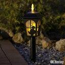 ソーラーライト LED 送料無料 ディズニー シルエットストーリー ミッキー & ミニー TD-LR01 ガーデン キャラクター 防犯 防災 ガーデニング 庭 ライト 灯り 明り 照明